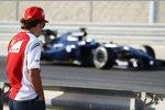 Fernando Alonso (Ferrari) und Felipe Massa (Williams)