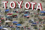 Toyota-Sponsoring am Rattlesnake Hill in Phoenix