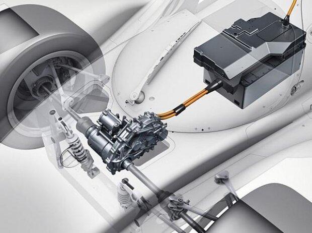 Hybrid-System des Porsche 919