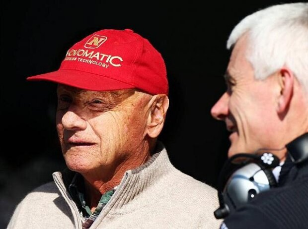 Geoff Willis, Niki Lauda