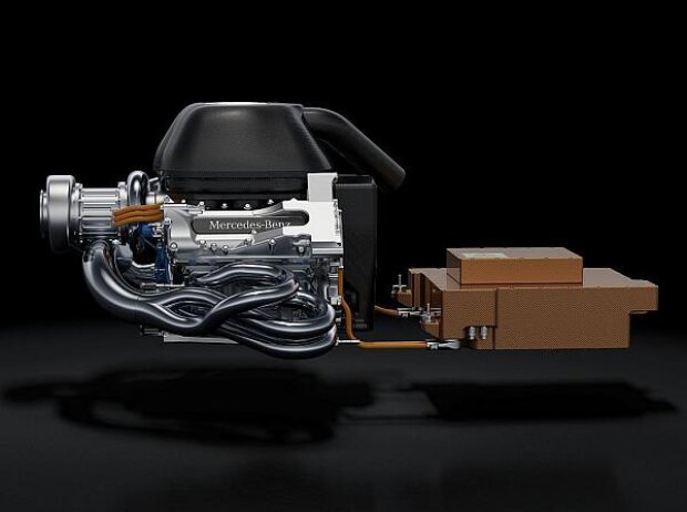 Mercedes-Motor 2014
