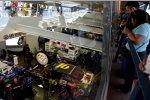 Die Neon-Garage am Las Vegas Motor Speedway