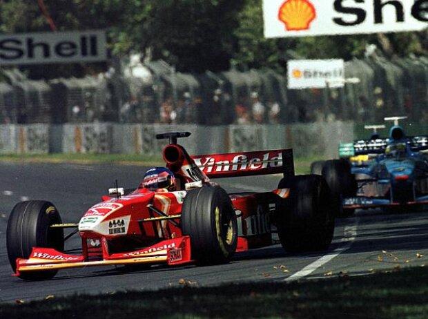 Jacques Villeneuve, Giancarlo Fisichella, Melbourne 1998