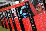 Erinnerungstafel für den viermaligen Melbourne-Sieger Michael Schumacher