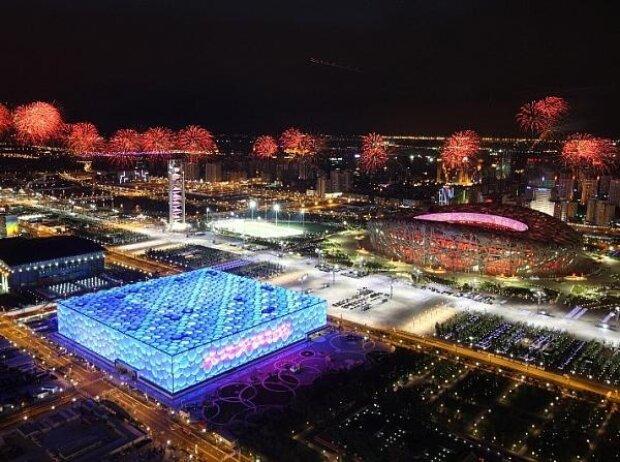 Formel E, Peking, Olympiastadion