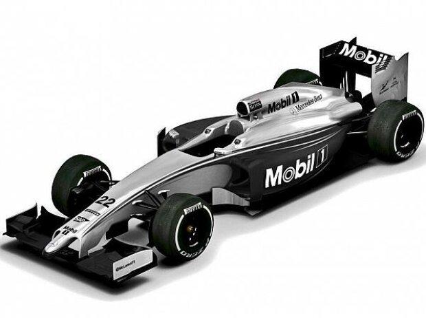 McLaren MP4-29 und Mobil 1