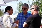 Felipe Massa (Williams), Damon Hill und Johnny Herbert