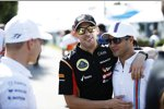 Pastor Maldonado (Lotus) und Felipe Massa (Williams)