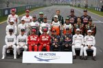 Max Chilton (Marussia), Jules Bianchi (Marussia), Kamui Kobayashi (Caterham), Marcus Ericsson (Caterham), Jean-Eric Vergne (Toro Rosso), Daniil Kwjat (Toro Rosso), Felipe Massa (Williams), Valtteri Bottas (Williams), Adrian Sutil (Sauber), Esteban Gutierrez (Sauber), Nico Hülkenberg (Force India), Sergio Perez (Force India), Romain Grosjean (Lotus), Pastor Maldonado (Lotus), Lewis Hamilton (Mercedes), Nico Rosberg (Mercedes), Fernando Alonso (Ferrari), Kimi Räikkönen (Ferrari), Sebastian Vettel (Red Bull), Daniel Ricciardo (Red Bull), Jenson Button (McLaren) und Kevin Magnussen (McLaren)