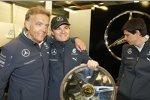 Wolfgang Schattling und Nico Rosberg (Mercedes)