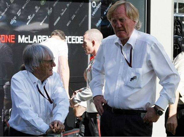 Bernie Ecclestone und Ron Walker