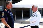 Ex-Kollegen unter sich: Jonathan Wheatley (Red Bull) und Geoff Willis (Mercedes)