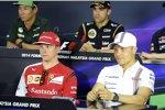 Finnen unter sich: Valtteri Bottas (Williams) und Kimi Räikkönen (Ferrari)
