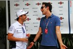 Felipe Massa (Williams) und Bruno Senna