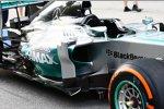 Seitenkasten des Mercedes F1 W05