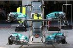 Frontpartie des Mercedes F1 W05
