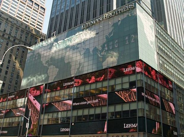 Lehman Brothers am New Yorker Times Square