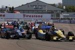 Marco Andretti (Andretti) und Graham Rahal (Rahal)