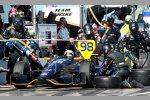 Rookie Jack Hawksworth (Herta) zeigte ein starkes IndyCar-Debüt - bis zum Crash beim Restart
