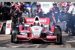 Juan Pablo Montoya (Penske) kam bei seiner IndyCar-Rückkehr auf Platz 15 ins Ziel