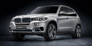 New York 2014: BMW zeigt Concept X5 eDrive
