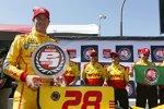 Polesitter Ryan Hunter-Reay (Andretti)