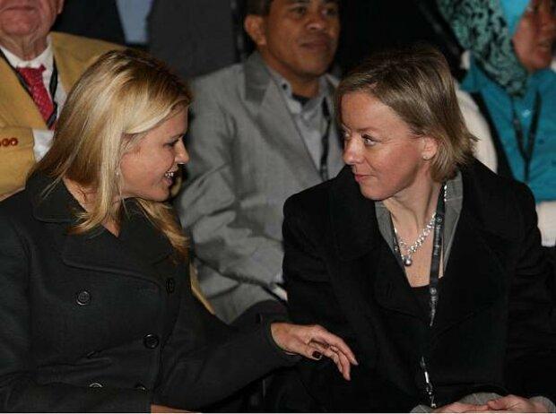 Corinna Schumacher und Sabine Kehm