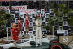 Mike Conway jubelt in der Victory Lane