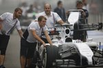 Williams-Mechaniker bei der Arbeit