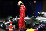 Fernando Alonso (Ferrari) und Lewis Hamilton (Mercedes)
