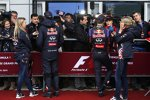 Daniel Ricciardo (Red Bull) und Sebastian Vettel (Red Bull)