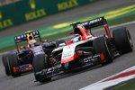 Max Chilton (Marussia) und Daniel Ricciardo (Red Bull)