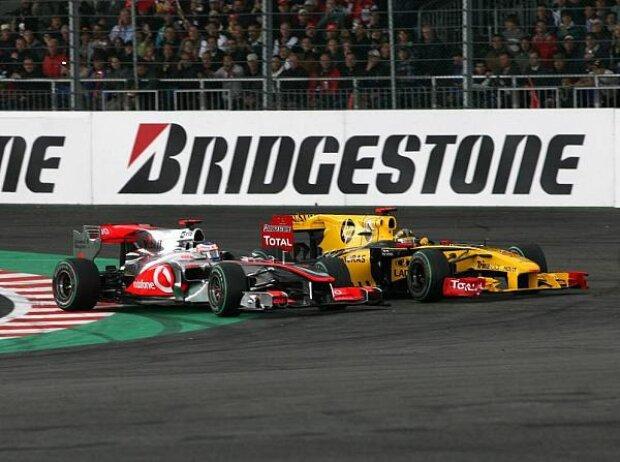 Jenson Button, Robert Kubica