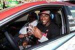 Robert Griffin III, Quterback der Washington Redskins, posiert im Pace-Car