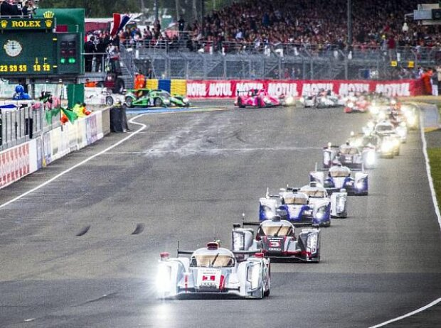 Start Le Mans 2013