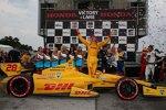 Ryan Hunter-Reay (Andretti) gewinnt