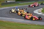 Sebastian Saavedra ärgert die Slick-bereifte Konkurrenz
