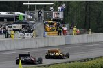 Zieldurchfahrt: Ryan Hunter-Reay (Andretti) gewinnt