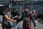 Andretti-Teamkollegen: James Hinchcliffe und Kurt Busch
