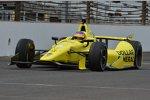 Jacques Villeneuve (Schmidt) beim Rookie-Test