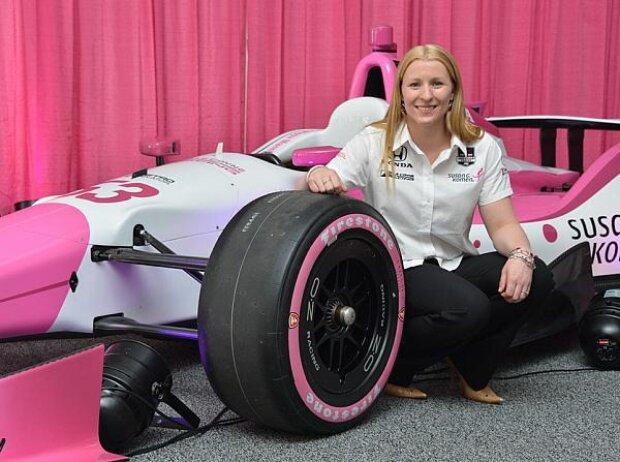 Pippa Mann Indy 500 2013