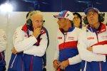 Hugues de Chaunac und Stephane Sarrazin (Toyota)