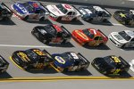 Three-Wide in Talladega mit Brendan Gaughan und Chase Elliott