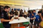 Daniel Juncadella (Force India) feiert seinen 23. Geburtstag