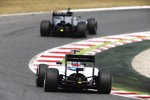 Kevin Magnussen (McLaren) und Felipe Massa (Williams)