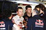 Daniil Kwjat (Toro Rosso) und Franz Tost