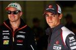 Esteban Gutierrez (Sauber) und Nico Rosberg (Mercedes)