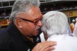 Vijay Mallya und Bernie Ecclestone