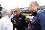 Bernie Ecclestone und Vijay Mallya