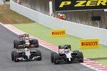 Jenson Button (McLaren), Esteban Gutierrez (Sauber) und Sebastian Vettel (Red Bull)